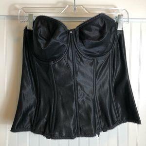 Dominique black corset